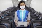 バンコク航空の機内食