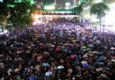 タイの反政府デモ