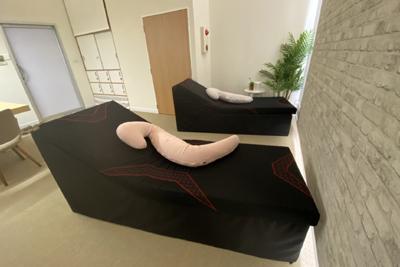 西川の仮眠施設