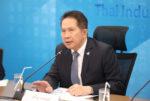 タイ工業連盟のスパン会長