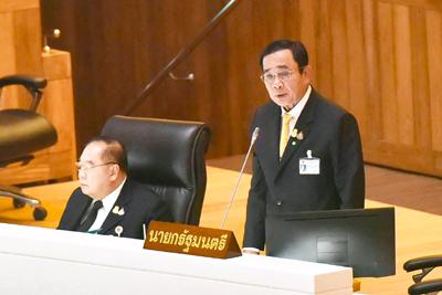 タイのプラユット首相