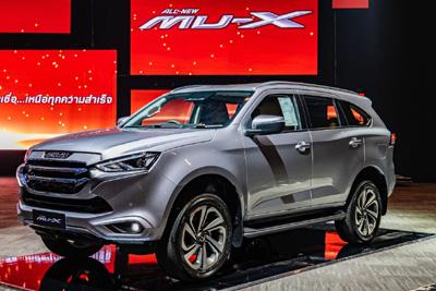 いすゞの新型「MU-X」