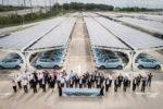 上海汽車CPの太陽光発電