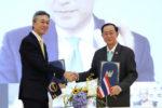 タイ政府とADBの調印式