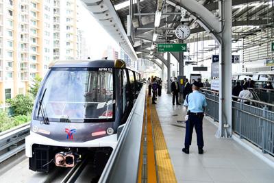 タイの鉄道ゴールドライン
