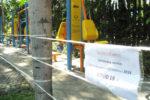バンコクの公園遊具