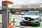セブン-イレブンのEV充電スタンド