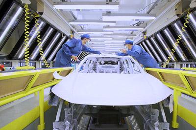 長城汽車の生産ライン