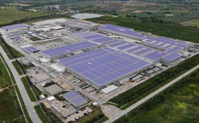 UACJの太陽光発電