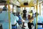 タイの接種用バス